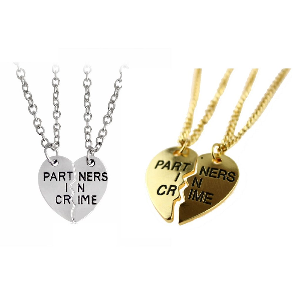 Partners in Crime BFF ketting