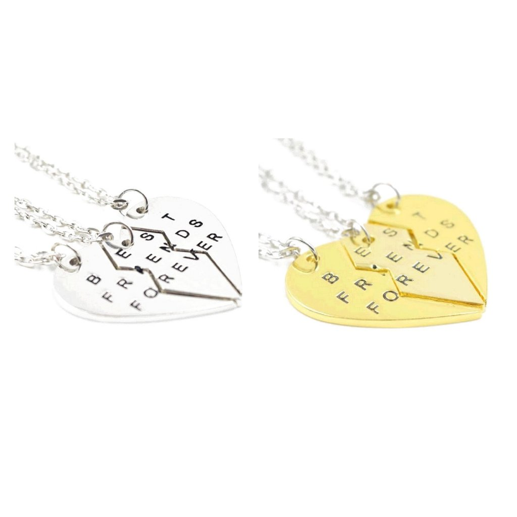 Best Friends Forever BFF ketting voor 3 BFF